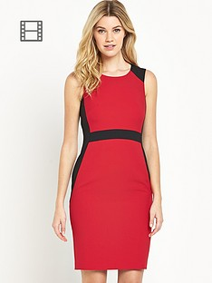 south-tall-panelled-colourblock-dress