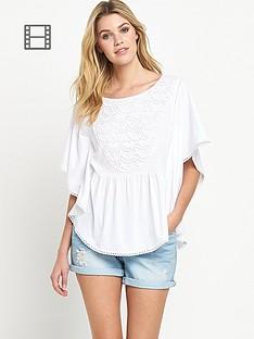 south-crochet-trim-komono-sleeved-top