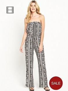 south-aztec-printed-bandeau-jumpsuit