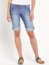 Taylor Boyfriend Knee Length Shorts