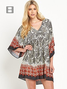 south-mixed-tile-printed-smock-dress