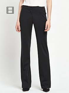 south-south-petite-ponte-bootcut-trousers