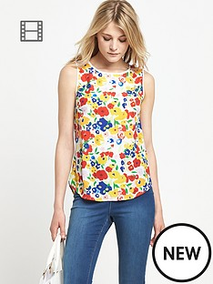 south-floral-sleeveless-top