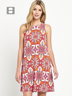 south-printed-a-line-jersey-swing-dress