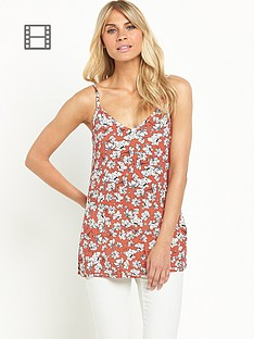 south-floral-jersey-v-neck-cami