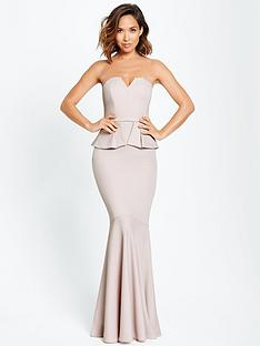 myleene-klass-peplum-maxi-dress