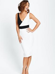 myleene-klass-colour-block-bodycon-dress