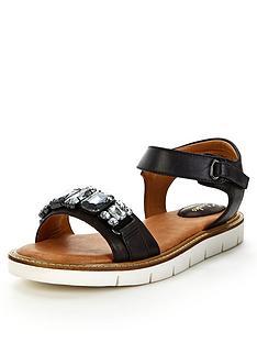 clarks-lydie-joelle-jewel-black-flat-sandals