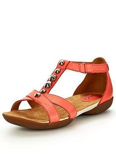 clarks-raffi-scent-coral-flat-sandals
