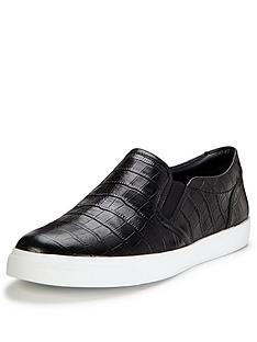 clarks-glove-puppet-black-print-slip-on-skate-shoes