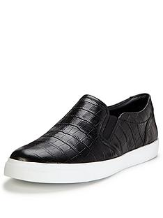 clarks-glove-puppet-croc-embossed-skate-shoes-black