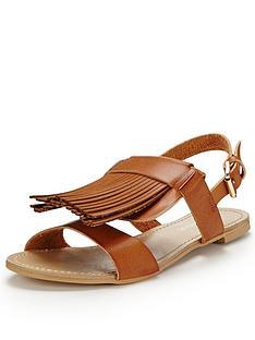 glamorous-fringed-flat-sandals