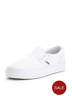 vans-classic-slip-on-mono-junior-trainers