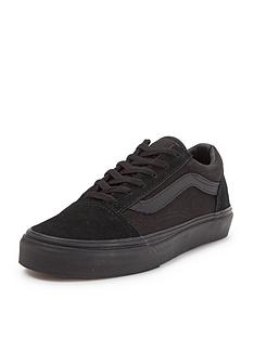 vans-old-skool-mono-junior-plimsolls