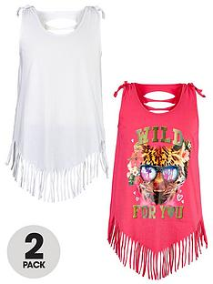 freespirit-girls-fringed-vests-2-pack