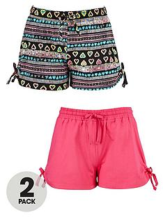 freespirit-girls-bow-tied-shorts-2-pack