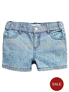 pumpkin-patch-girls-print-denim-shorts
