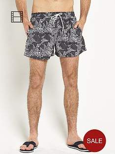 goodsouls-mens-aztec-print-shorts