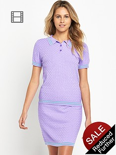 love-label-polo-two-piece-set