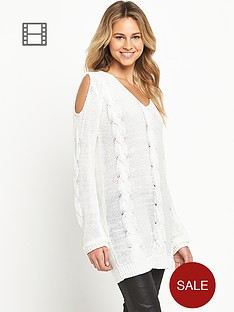 love-label-open-shoulder-cable-tunic