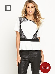 love-label-eyelash-detail-peplum-top