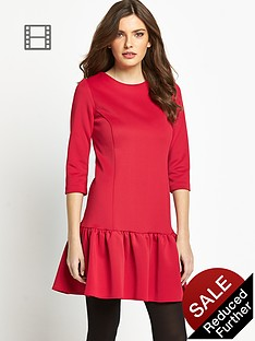 definitions-petite-drop-waist-dress