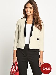 savoir-short-crepe-jacket