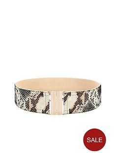 snake-print-waist-belt