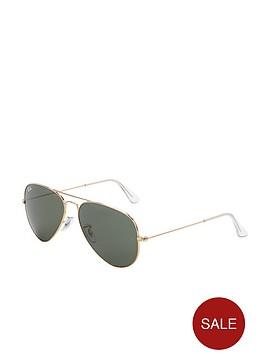 ray-ban-aviator-sunglasses-gold