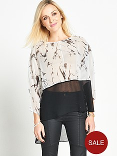 fearne-cotton-chiffon-dip-hem-top