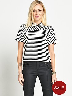 fearne-cotton-stripe-collared-top