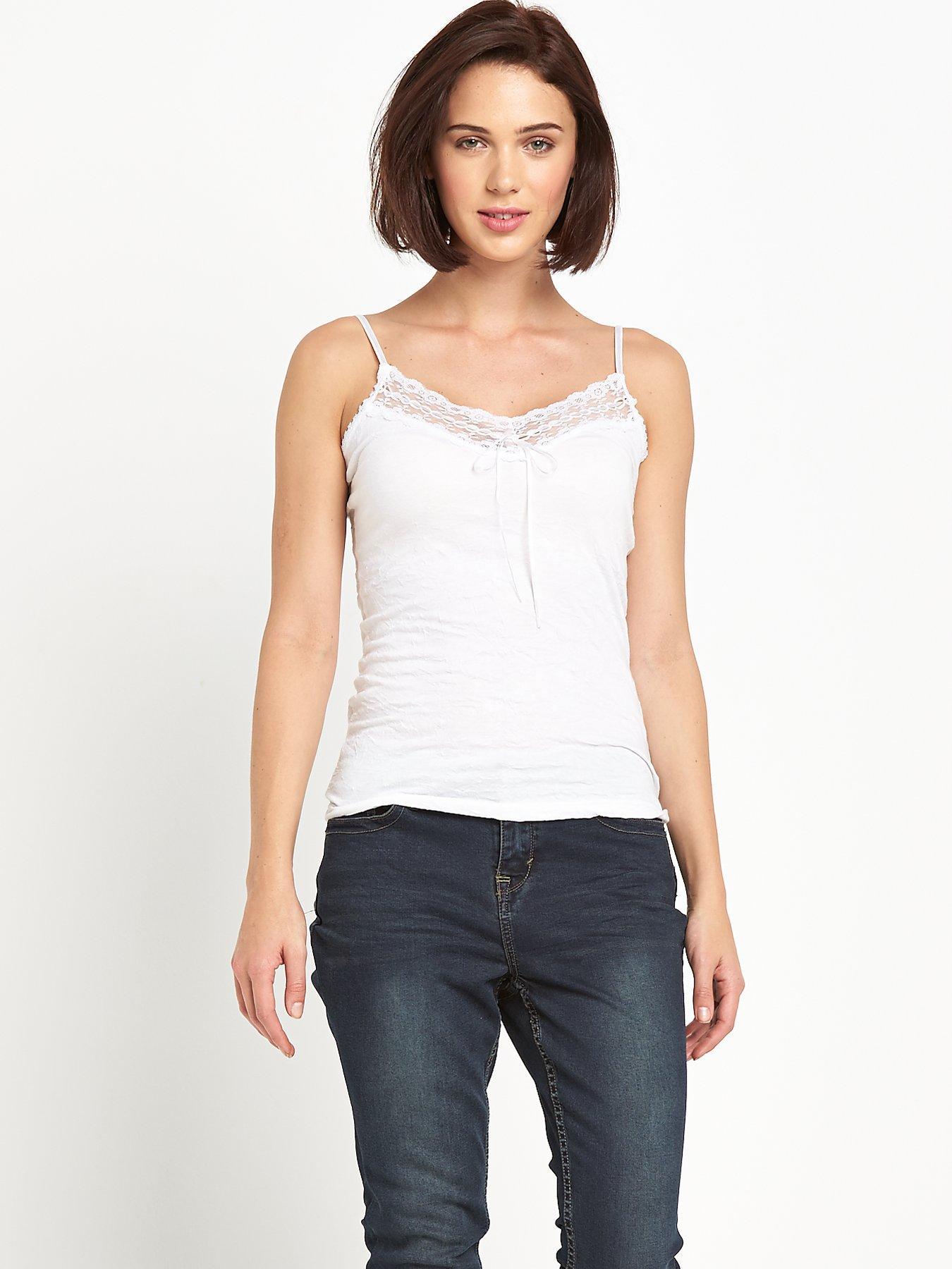 Vibrant Versatile Cami - White, White