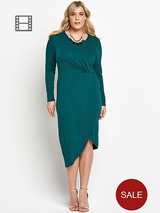so-fabulous-asymmetric-jersey-knot-dress