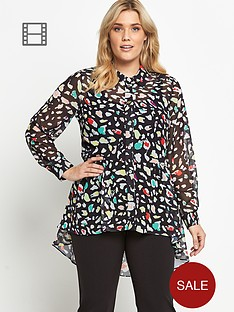 so-fabulous-dipped-hem-print-blouse