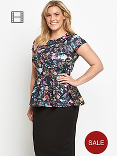 so-fabulous-scuba-floral-print-peplum-top
