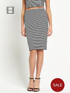 lipsy-michelle-keegan-stripe-pencil-skirt