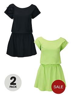 south-2pk-scoop-back-dresses