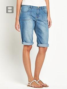 south-knee-length-denim-shorts