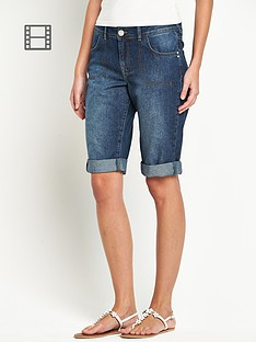 south-knee-length-denim-shorts