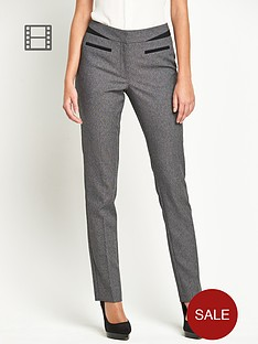 south-mix-match-slim-leg-trousers-grey