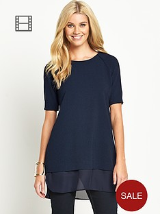 south-chiffon-trim-longline-tunic