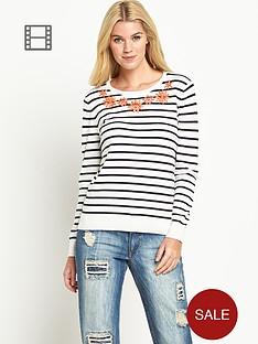 south-jewel-necklace-stripe-jumper
