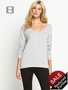 south-v-neck-curved-hem-jumper