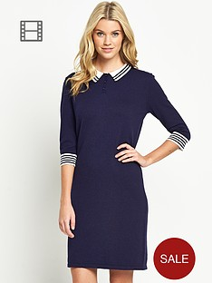 south-petite-knitted-polo-dress