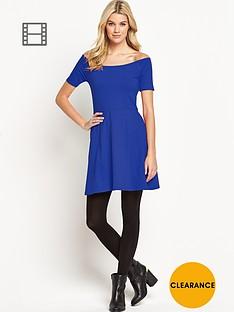 south-bardot-skater-dress