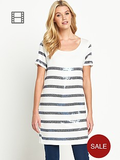 south-sequined-striped-tunic