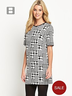 south-check-jacquard-tunic