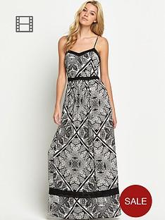 south-tall-crinkle-print-maxi-dress
