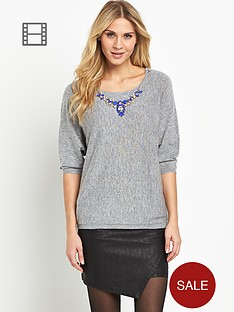 south-necklace-batwing-jumper