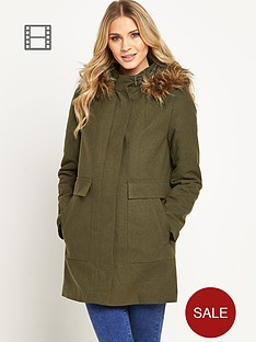 south-twill-casual-parka